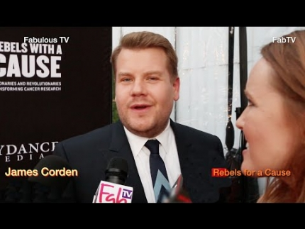James Corden at 'Rebels for a Cause