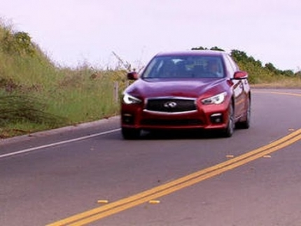 On the road: Infiniti Q50S Hybrid