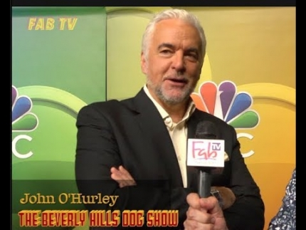 "John O'Hurley of ""The Beverly Hills Dog Show"" on NBC press tour  2019"