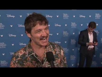 "Pedro Pascal ""The Mandalorian"" at D23"