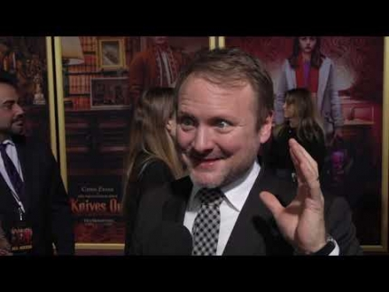 """Rian Johnson director of """"Knives Out"""""""