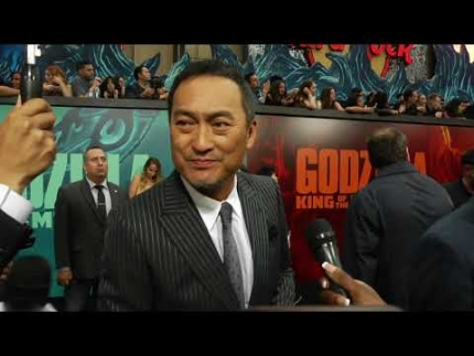 "Ken Watanabe at the Hollywood premiere of ""Godzilla: King of the Monsters"""