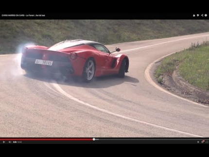 CHRIS HARRIS ON CARS - La Ferrari , the full test