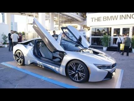BMW Tech at CES 2015!