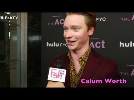 "Calum Worthy  Hulu's ""THE act""  part 1"
