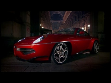 Alfa Romeo Disco Volante - Top Gear - Series 21 - BBC