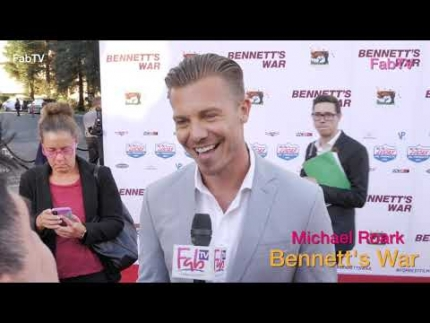 "Actor 'Michael Roark' at the ""Bennett's War"" world premiere"