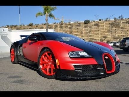 Matte Red Bugatti Vitesse Delivery - Bugatti San Diego (RAW FOOTAGE)