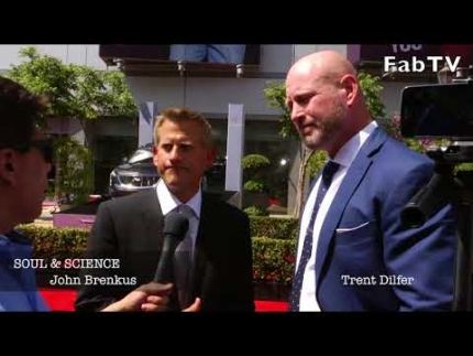 "John Brenkus & Trent Dilfer at the ESPY'S break down ""SOUL & SCIENCE"""