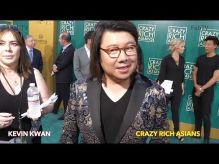 "Author Kevin Kwan at the ""Crazy Rich Asians""  premiere"