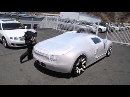 Bugatti Veyron delivery - as magic as the car itself