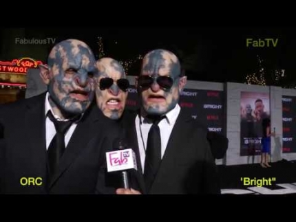 Orc's from Netflix's 'BRIGHT' on FabTV