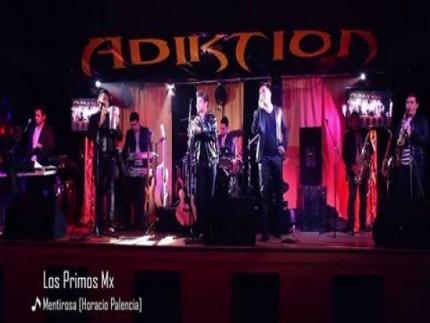 Presentación de Los Primos Mx en el Club Adiktion en Beloit,...