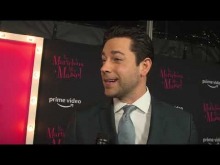 """The Marvelous Mrs. Maisel""  with Zachary Levi   season 2 premiere"