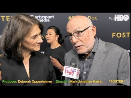 "Exclusive! Producer:  Deborah Oppenheimer & Director: Mark Jonathan Harris at the ""FOSTER"" premiere"