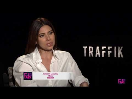 Roselyn Sanchez touches on Traffik