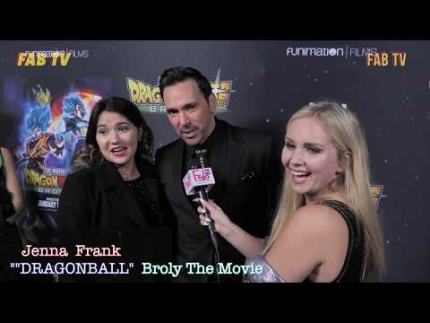 "Jenna Frank at the ""DRAGONBALL"" 'Broly' The Movie red carpet"