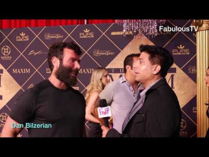 Dan Bilzerian at 'MAXIM's HOT 100' party on FabTV