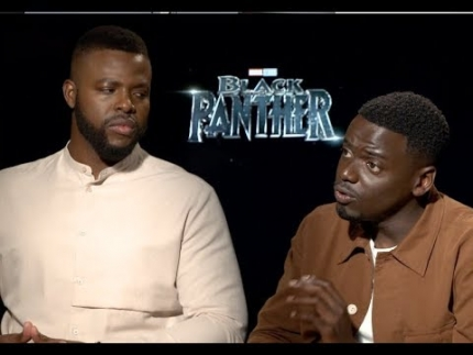 Daniel Kaluuya & Winston Duke detail 'Black Panther' film