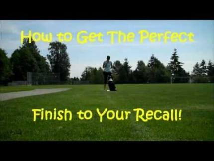 Recall - the perfect finish