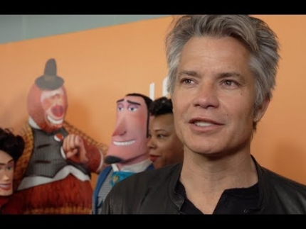 "Timothy Olyphant  at the ""Missing Link""  premiere"
