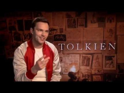 """Nicholas Hoult   """"J.R.R. Tolkien"""" TOLKIEN"""