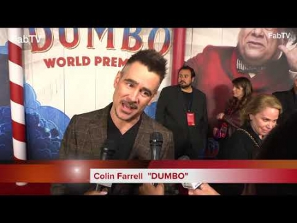 "Colin Farrell at the ""DUMBO""  premiere"