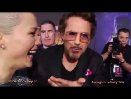 Robert Downey Jr. @ Avengers: Infinity War  World  Premiere