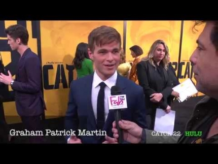 "Graham Patrick Martin ""CATCH 22""  premiere"