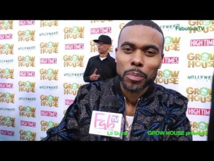 Lil Duval at the 'GROW HOUSE' premiere