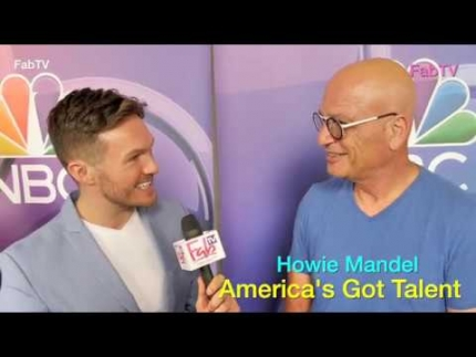 "Howie Mandel judge of ""America's Got Talent"" goes live!!!..."
