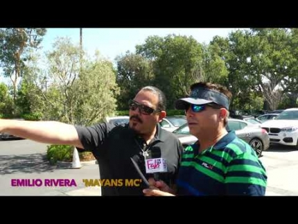 Emilio Rivera 'Mayans MC' at George Lopez celebrity golf on FabTV