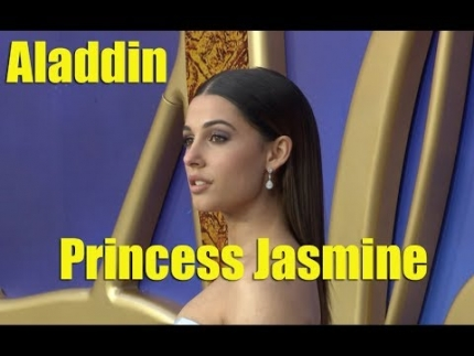 "NEW!  ""Aladdin"" European Gala red carpet & premiere"