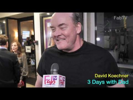 "David Koechner at the ""3 Days with Dad"" premiere"