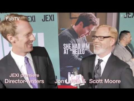 "Director-writers Jon Lucas & Scott Moore at the ""JEXI""  premiere & red carpet"