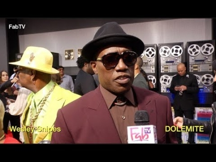 "Wesley Snipes at the ""DOLEMITE"" premiere"