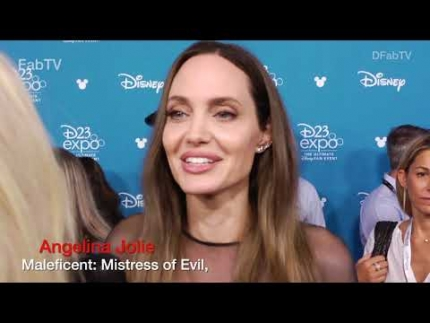 Angelina Jolie reveals Maleficent: Mistress of Evil