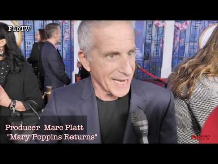 "Producer Marc Platt at the ""Mary Poppins Returns"" World Premiere"