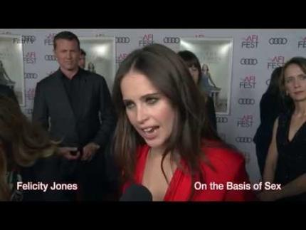 "Felicity Jones ""On the Basis of Sex""  AFI film festival..."