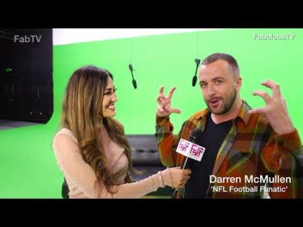 Darren McMullen details his new show 'NFL Football Fanatic' on FabTV