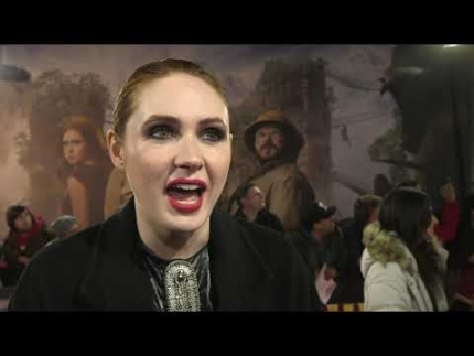 "The beautiful 'KAREN GILLAN' at the ""JUMANJI"" THE NEXT..."