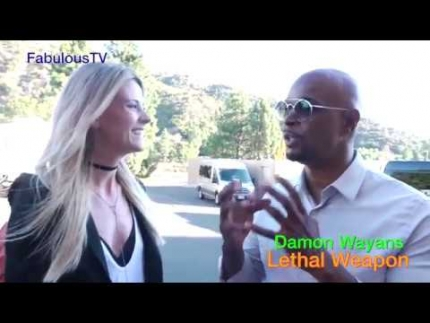 Damon Wayans talks about 'Lethal Weapon' on FOX