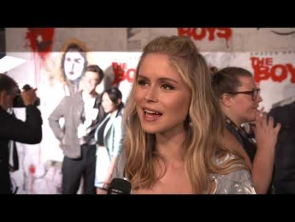 "Erin Moriarty talks ""The Boys"" Amazon Prime"