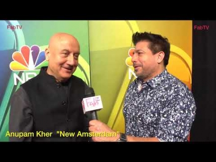 "Anupam Kher talks about his role on ""New Amsterdam"""