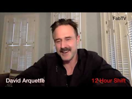"Interview with David Arquette  stars in ""12 Hour Shift"""