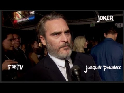 "EXCLUSIVE! interviews at the ""Joker"" World Premiere Joaquin Phoenix  & cast!"
