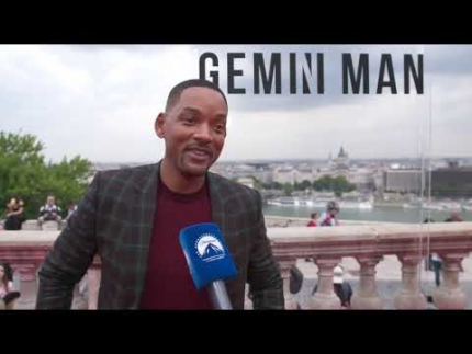 "Will Smith  at the ""GEMINI MAN"" World premiere in Budapest"
