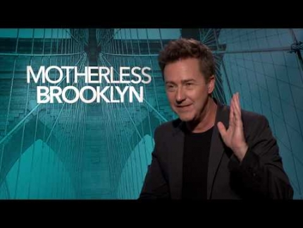 "ED Norton ""Motherless Brooklyn"""