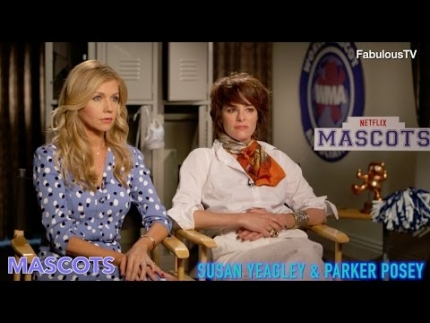 Susan Yeagley & Parker Posey talk about Netflix's  'MASCOTS'  on FabulousTV