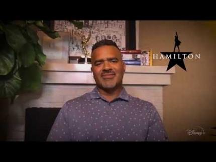 "Junkets: ""Hamilton"" -  Chris Jackson"